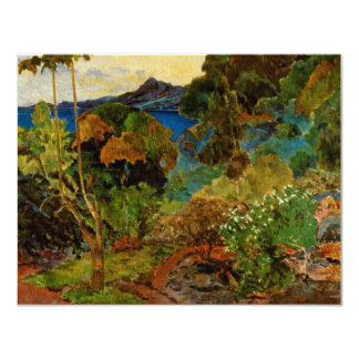 Paul Gauguin's Martinique Landscape (1887) Announcement