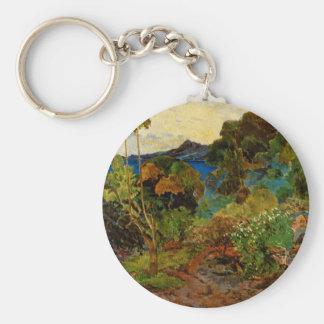 Paul Gauguin's Martinique Landscape (1887) Keychain