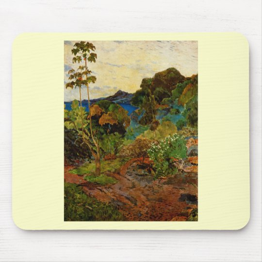 Paul Gauguin's Martinique Landscape (1887) Mouse Pad