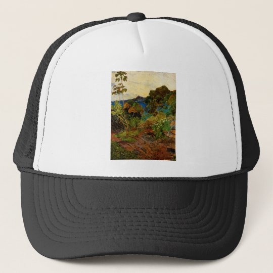 Paul Gauguin's Martinique Landscape (1887) Trucker Hat