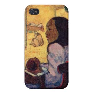 Paul Gauguin's Nativity Scene iPhone 4/4S Cases