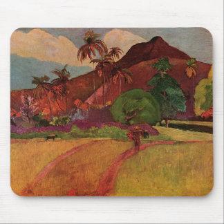 Paul Gauguin's Tahitian Landscape (1893) Mouse Pad