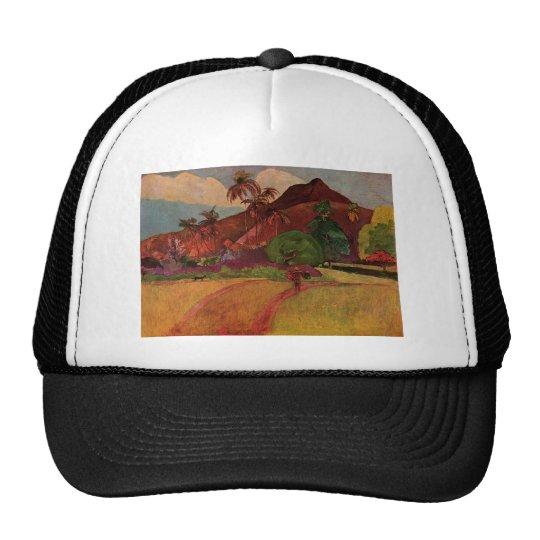 Paul Gauguin's Tahitian Landscape (1893) Trucker Hat