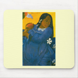 Paul Gauguin's Woman with a Mango (1892) Mouse Pad