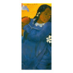 Paul Gauguin's Woman with a Mango (1892) Customized Rack Card