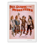 Paul Gilmore in The Musketeers Theatrical Card