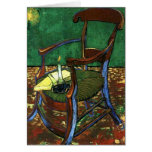 Paul Guaguin's Armchair by Vincent van Gogh Greeting Cards