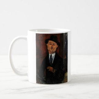 Paul Guillaume, Novo Pilota by Amedeo Modigliani Coffee Mug