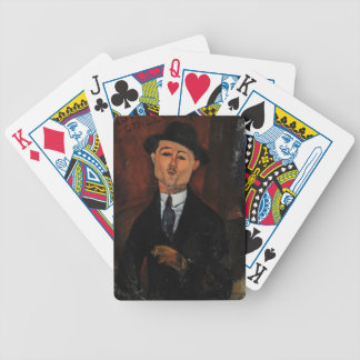 Paul Guillaume, Novo Pilota by Amedeo Modigliani Bicycle Poker Cards