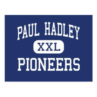 Paul Hadley promueve Mooresville medio Tarjetas Postales