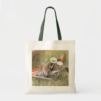 Paul Helleu Sketching with His Wife by Sargent Tote Bag
