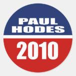 PAUL HODES PARA EL SENADO PEGATINAS