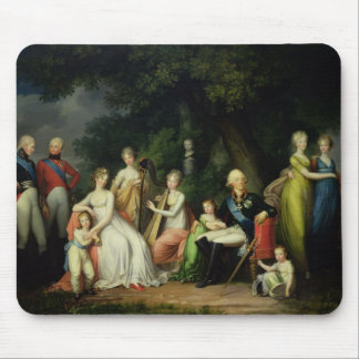 Paul I , Maria Feodorovna  and their Children Mouse Pad