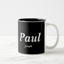 Paul, Joseph Two-Tone Coffee Mug