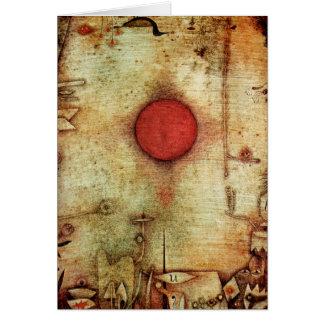 Paul Klee Ad Marginem Painting Card