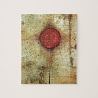 Paul Klee Ad Marginem Painting Jigsaw Puzzle