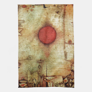 Paul Klee Ad Marginem Painting Kitchen Towel