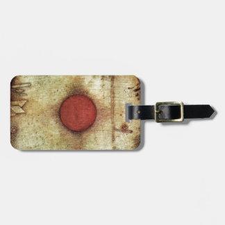 Paul Klee Ad Marginem Painting Luggage Tag