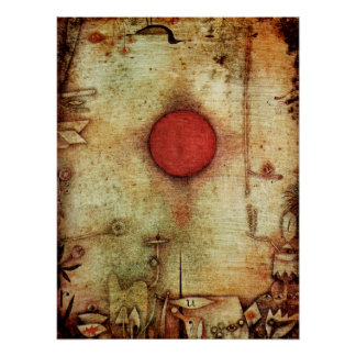 Paul Klee Ad Marginem Painting Poster