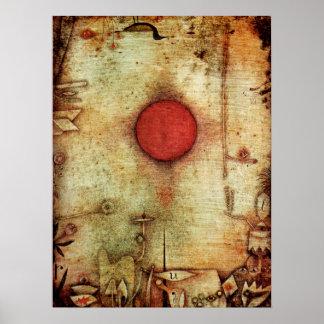 Paul Klee Ad Marginem Painting Poster