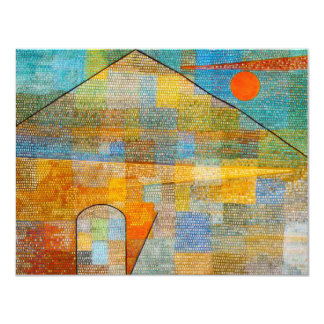 Paul Klee Ad Parnassum Invitations
