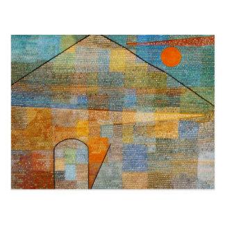Paul Klee Ad Parnassum Postcard