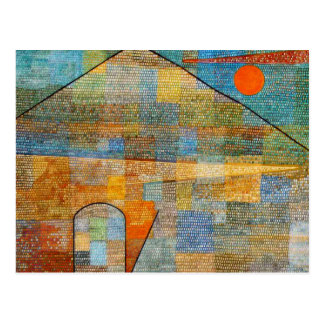 Paul Klee - Ad Parnassum Postcard