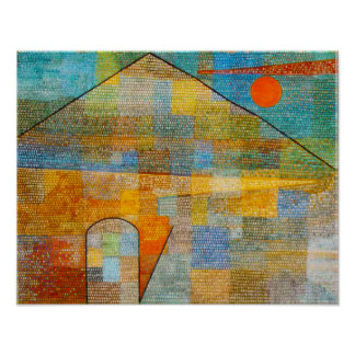 Paul Klee Ad Parnassum Poster