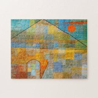 Paul Klee Ad Parnassum Puzzle