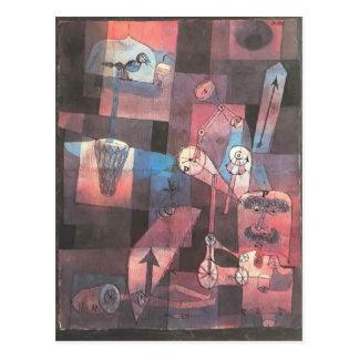 Paul Klee- Analysis of diverse perversities Postcard