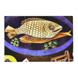 Paul Klee - Aroundfish Salvamanteles