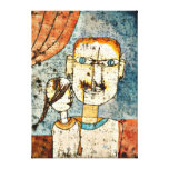 Paul Klee art: Adam and Little Eve Gallery Wrap Canvas