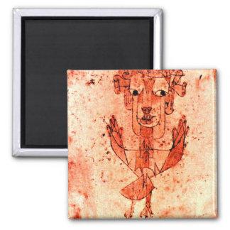 Paul Klee art: Angelus Novus (New Angel) Magnets