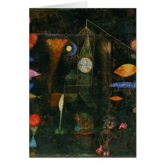 Paul Klee Art Card