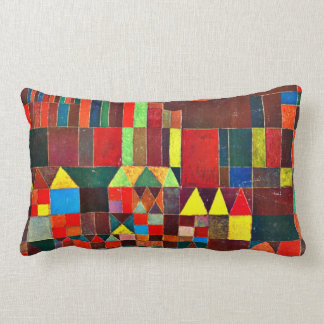 Paul Klee art: Castle and Sun, Klee painting Throw Pillow