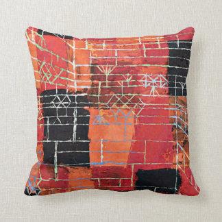 Paul Klee art: Configuration Perspective Pillow