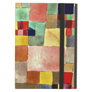 Paul Klee art: Flora on Sand, famous painting iPad Air Cover