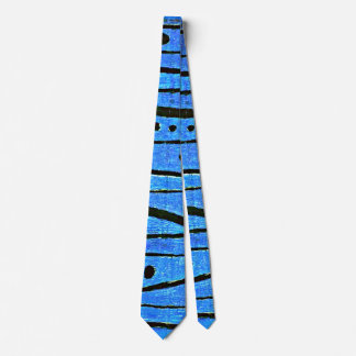 Paul Klee art: Heroic Fiddling, Klee painting Neck Tie