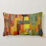 Paul Klee art: In the Style of Kairouan Pillow