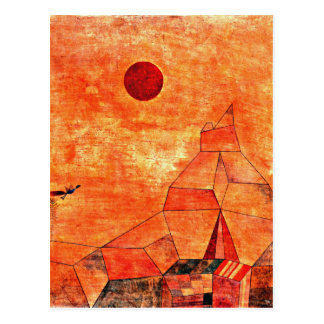 Paul Klee art - Marchen Postcard