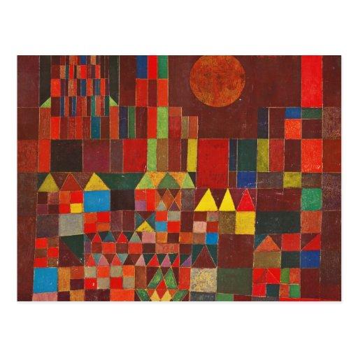 Paul Klee Art Postcard