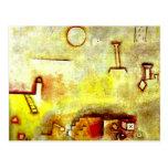 Paul Klee art: Reconstructing Postcard