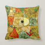 Paul Klee art: Southern Gardens Pillow