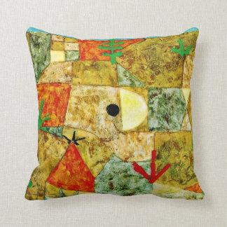 Paul Klee art: Southern Gardens Pillow