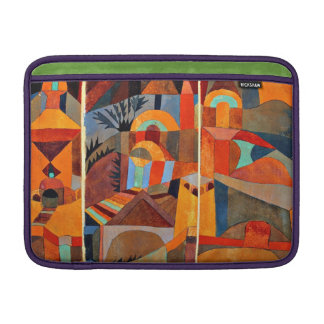 Paul Klee art: Temple Gardens MacBook Air Sleeve