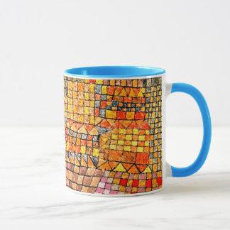 Paul Klee art: Town Castle Kr. Mug