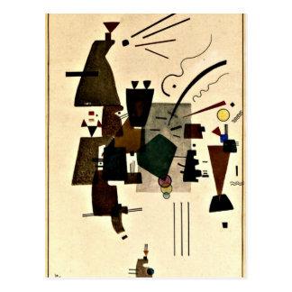 Paul Klee art: Warmed Cool Postcard