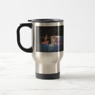 Paul Klee- Battle scene from the comic 'Seafarer Mugs