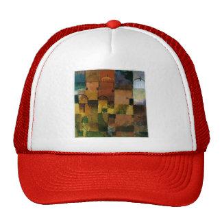 Paul Klee: Bóvedas rojas y blancas Gorro