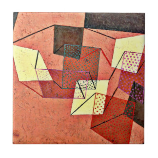 Paul Klee - Braced Surfaces (1930) Ceramic Tile